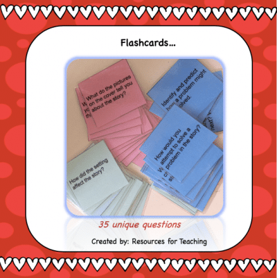 Comprehension Flashcards: Before, During and After Reading