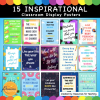 Inspirational and Positive Classroom Posters