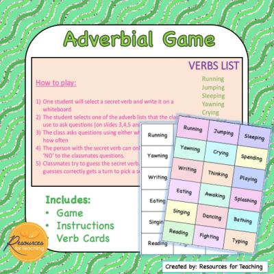 Adverbial Game