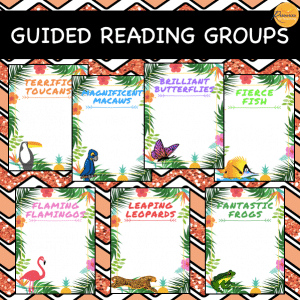 Tropical Reading Group Posters