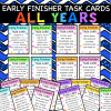 All Fast Finisher Task Cards