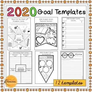 2020 Student Goal Templates