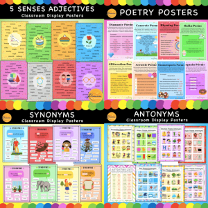 Writing Display Posters