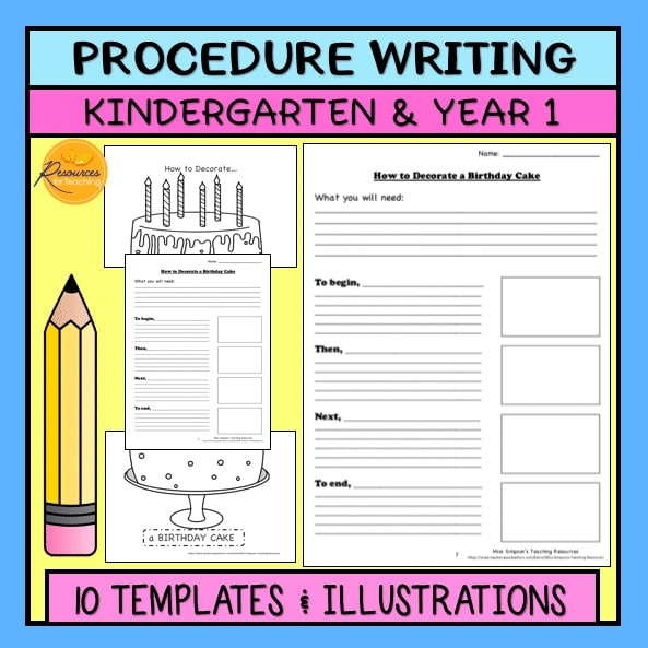 Procedure Writing Templates
